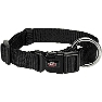 Trixie Premium Collar Jet Black - Large & Xlarge