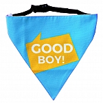 LANA Paws Good Boy Adjustable Bandana -Medium & Large