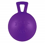 Jolly Pets Tug-n-Toss Ball Dog Toy Purple - 20.3 cm