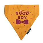 Mutt Of Course Good Boy Bandana - Medium