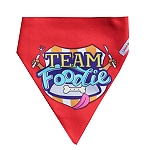 LANA Paws Team Foodie Adjustable Bandana -Medium & Large
