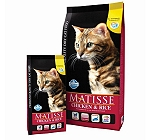 Matisse Adult Cat Food Chicken & Rice - 1.5 Kg (Pack Of 8)