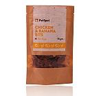PetSpot Chicken & Banana Bits - 70 gm