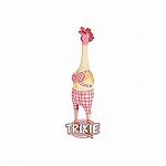 Trixie Hen Latex With Original Animal Sound Dog Toy - 48 cm