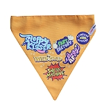 LANA Paws Best Dog Ever Adjustable Bandana Orange -Small & Medium