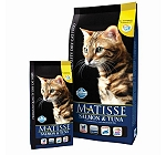 Matisse Adult Cat Food Salmon & Tuna - 400 gm (Pack Of 12)
