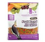 ZuPreem Fruit Blend Premium Food For Medium Bird - 900 Gm