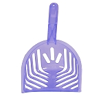 Fresh Kitty Translucent Litter Scoop - Purple