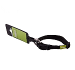 DogSpot Premium Adjustable Collar Black 10 mm - Xsmall