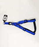 Ezra Double Thick 25 mm Dog Harness - Blue