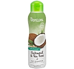 Tropiclean Medicated Oatmeal & Tea Tree Shampoo - 355 ml