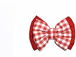 Mutt of Course Dog Bow Tie - Cherry Red
