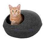Trixie Liva Cuddly Cave Cat Bed (LxBxH- 41x48x25 cm)