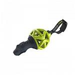 GiGwi Dinoball EDGE with Strap TPR-Nylon Green Dog Toy - Medium