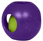 Jolly Pets Teaser Ball Dog Toy Purple - 20.3 cm