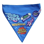 LANA Paws Best Dog Ever Adjustable Bandana Blue -Medium & Large