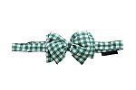 Mutt Of Course Checkmate Bow Tie Green - Small