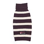 Mutt of Course Dog Sweater Purple - Small