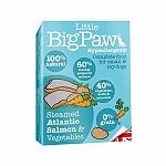 Little Big Paw Steamed Atlantic Salmon & Vegetable Terrine Dog Food- 150 gm (Pack of 7)