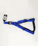 Ezra Single Thick 19 mm Dog Harness - Blue