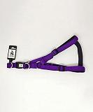 Ezra Single Thick 19 mm Dog Harness - Purple
