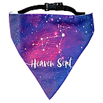 LANA Paws Astral, Heaven Sent Adjustable Bandana  -Small & Medium