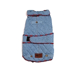 Mutt Of Course Denim Jacket Light Blue - 5XLarge