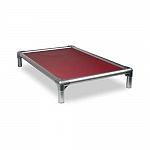 Kuranda All Aluminium Dog Bed Burgundy - Small