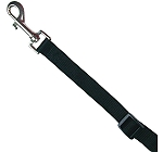 Trixie Classic Adjustable Leash Black - Medium & Large