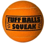 Petsport Tuff Balls Squeak Mesh - 7 cm