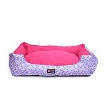 Mutt Of Course Geometrical Light Lounger Bed - Medium