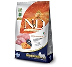 Farmina N&D Dry Dog Food Grain Free Pumpkin Lamb & Blueberry Adult Mini Breed- 2.5 Kg (Pack Of 4)