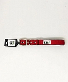 Ezra Double Thick 25 mm Dog Collar - Red