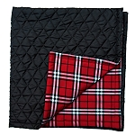 Mutt Of Course Pupberry Blanket Brown & Olive Green - Large