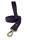Mutt of Course Wildberry Water- Resistant Leash for Dogs Purple- Medium