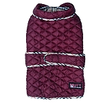 Mutt Of Course Pupberry Jacket Burgundy - XLarge