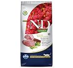Farmina N&D Dry Cat Food Grain Free Quinoa Weight Management Lamb Adult - 5 Kg