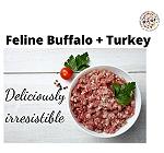 BARF Buffalo + Turkey  Feline Food Recipe - 4 kg