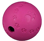 Trixie Snack Ball Interactive Toy Natural Rubber Medium - 9 CM