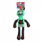 Gigwi Green Monster Rope Squeaker Inside Plush/Rope Dog Toy - Medium/ Large