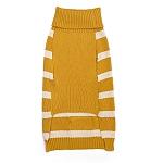 Mutt of Course Dog Sweater Mustard - 4XL
