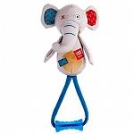 GiGwi Elephant Plush Friendz With TPR Johny Stick