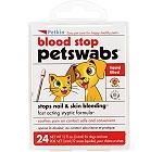 Petkin Blood Stop Petswabs - 24 Swabs