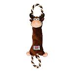 Kong Tugger Knots Moose Dog Toy - Medium/Large