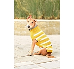 Mutt of Course Dog Sweater Mustard - Large