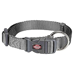 Trixie Premium Collar Graphite - Medium & Large