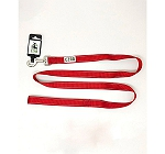 Ezra Single Thick 19 mm Dog Leash - Red