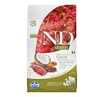 Farmina N&D Dry Dog Food Grain Free Quinoa Skin & Coat Duck Adult - 800 gm (Pack Of 10)