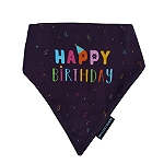 Mutt Of Course Happy Birthday Bandana - Medium