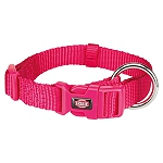 Trixie Premium Collar Fuchsia - Small & Medium